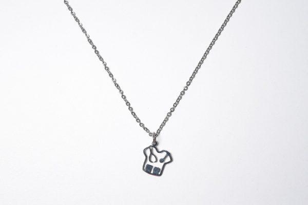 Ambo con esteto (Con cadena) – Ambos de acero quirúrgico