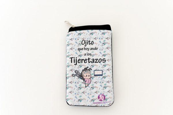 Ojito que hoy ando a los tijeretazos - Funda Celular