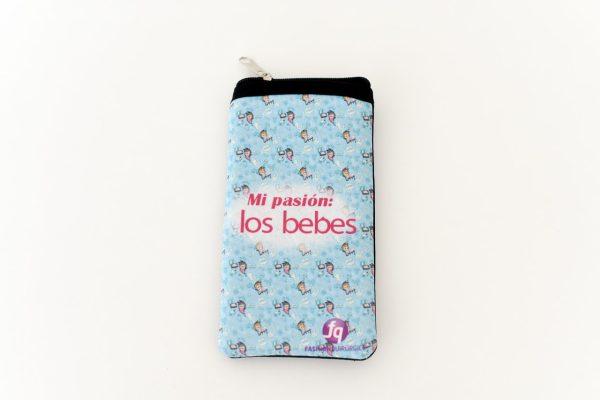 Mi pasión los bebes - Funda Celular