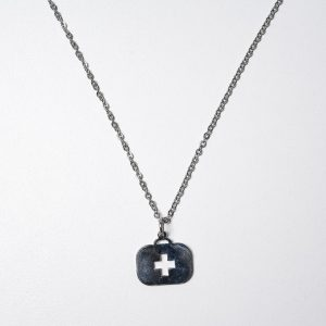 Dije Maletin (Con cadena) - Ambos de Acero Quirurgico