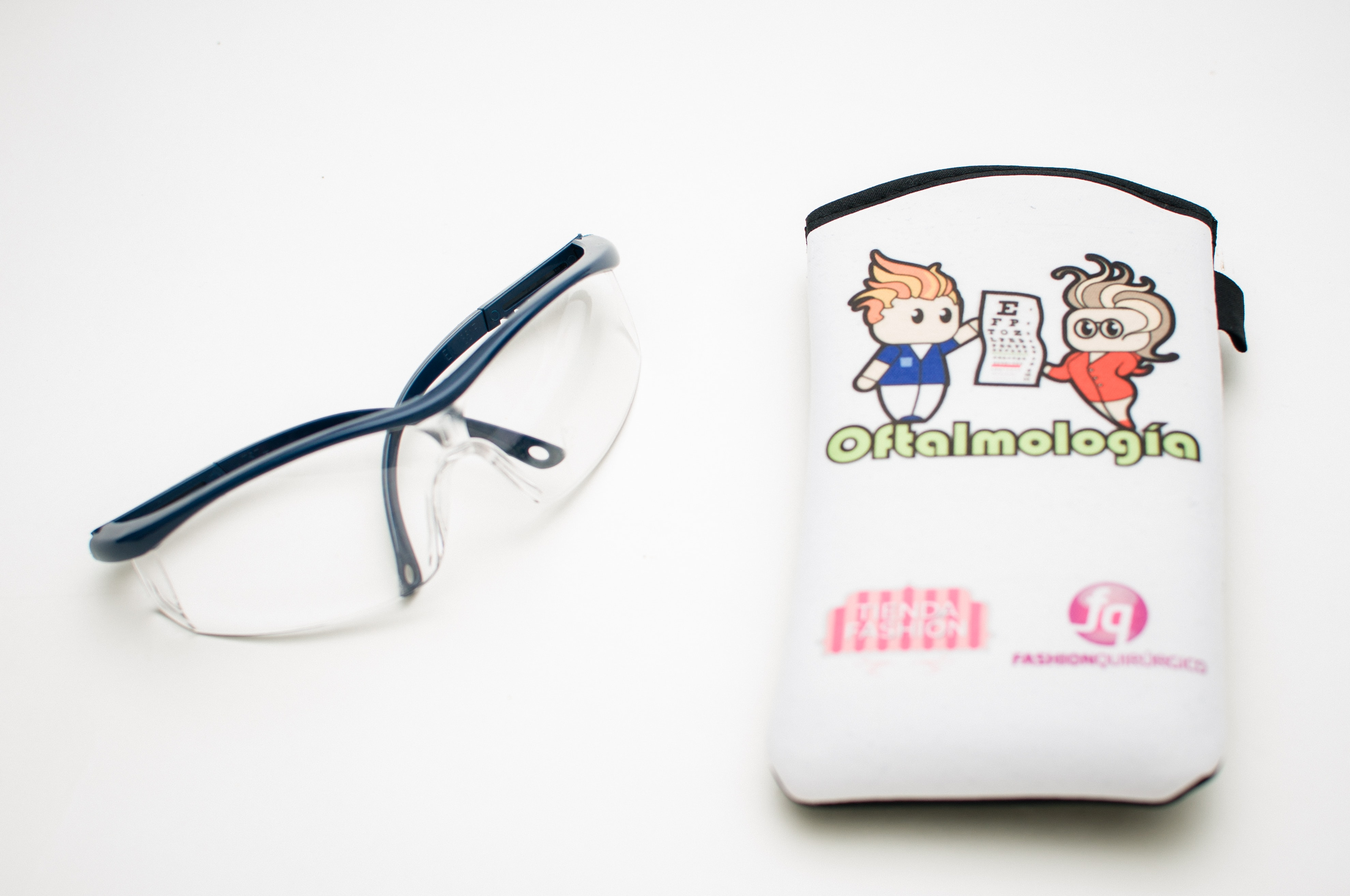 Oftalmologia - Estuche Anteojos de seguridad