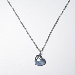 Veterinaria Love (Con cadena) – Ambos de acero quirúrgico
