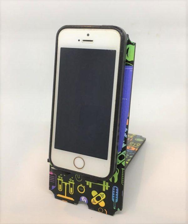 Porta celular Lo único imposible es aquello que no se intenta