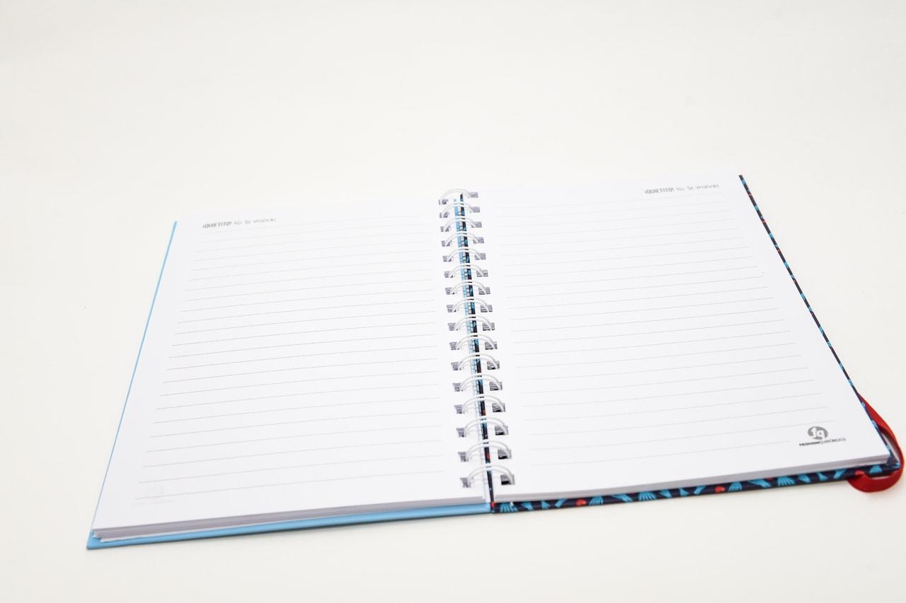 Quietito no te muevas - Cuaderno organizador Tapa dura A5