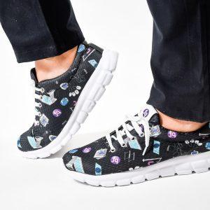 Kinesio– Zapatillas Ultralivianas estampadas