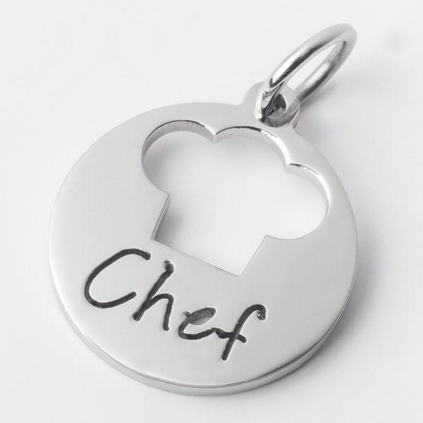 Chef (Con cadena) – Ambos de acero quirúrgico