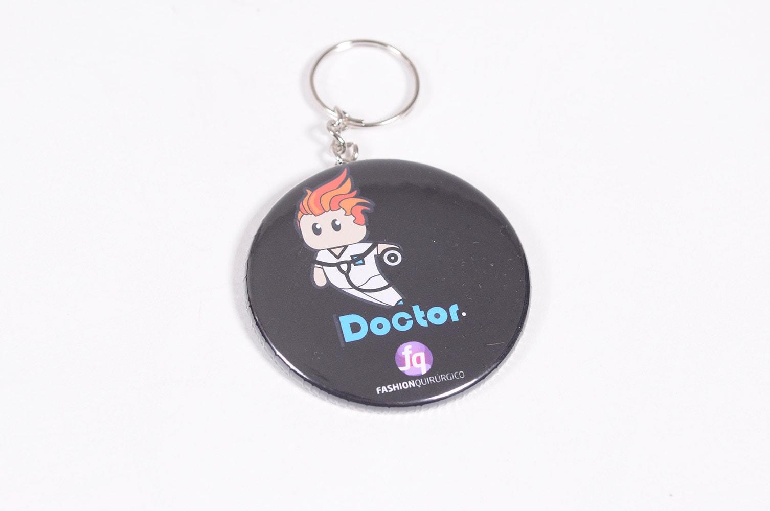 Llavero Hombre Doctor