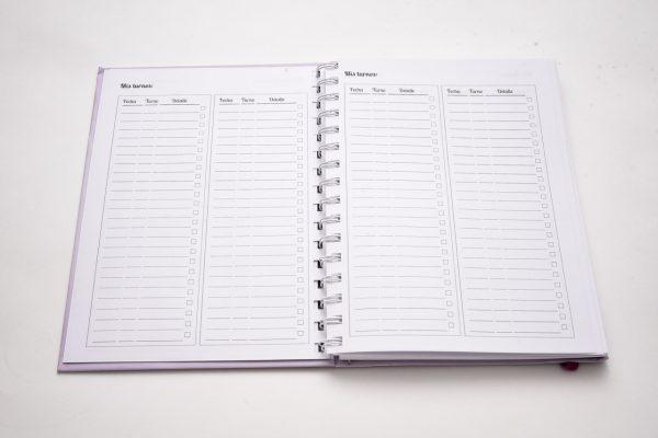 El éxito es la suma de pequeños esfuerzos repetidos día tras día - Cuaderno organizador Tapa dura A5