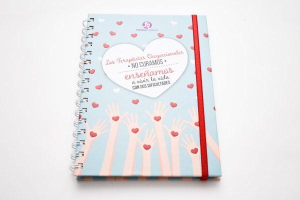 Los Terapista ocupacionales ... - Cuaderno organizador Tapa dura A5