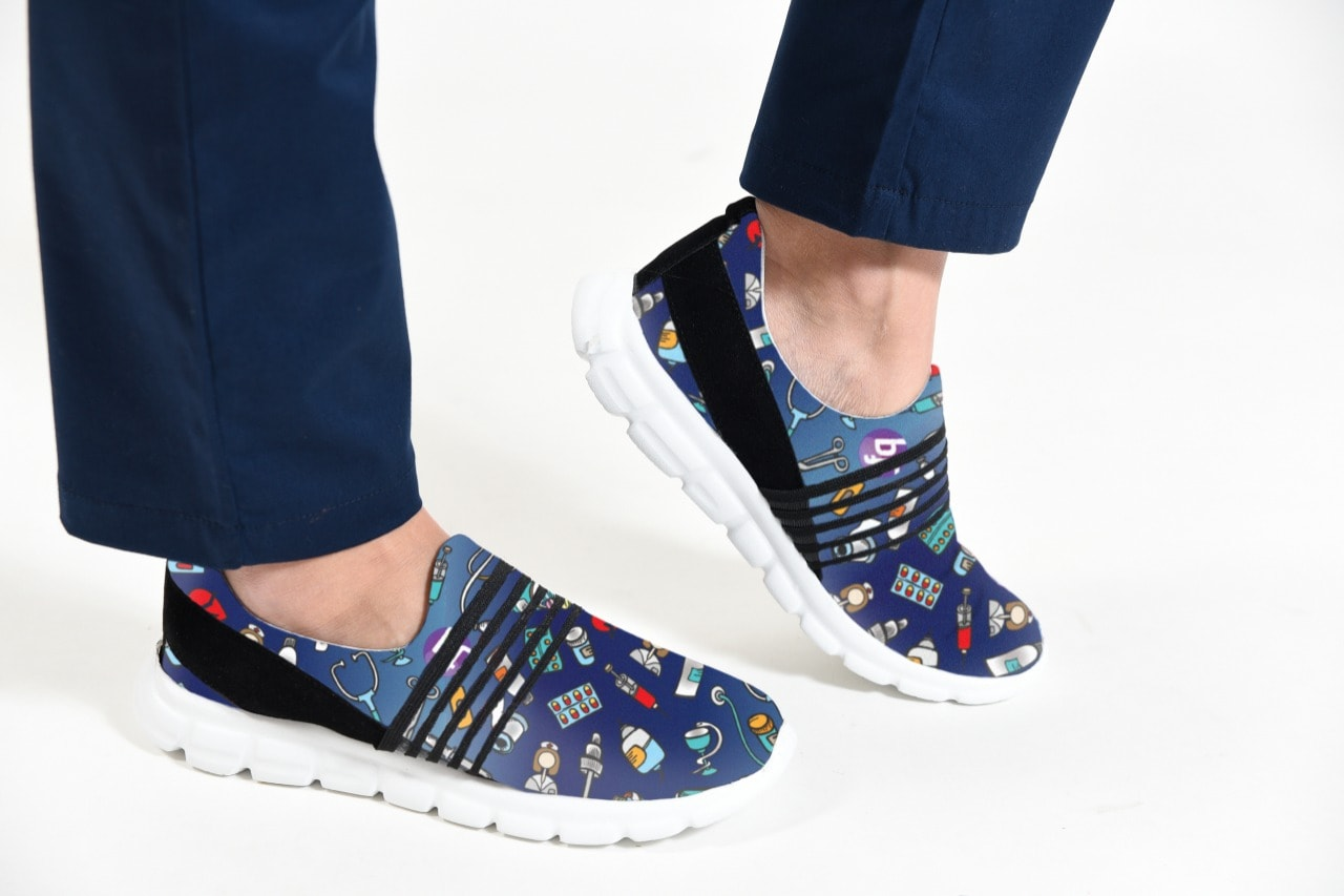 Bluelinda – Zapatillas Ultralivianas estampadas